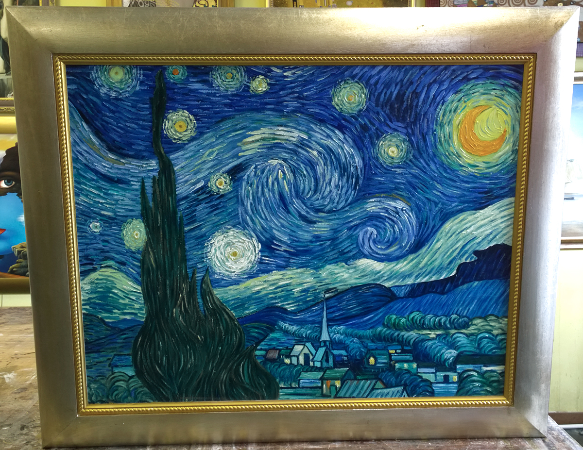 Moma Vincent Van Gogh The Starry Night 1889 - HD1200×927